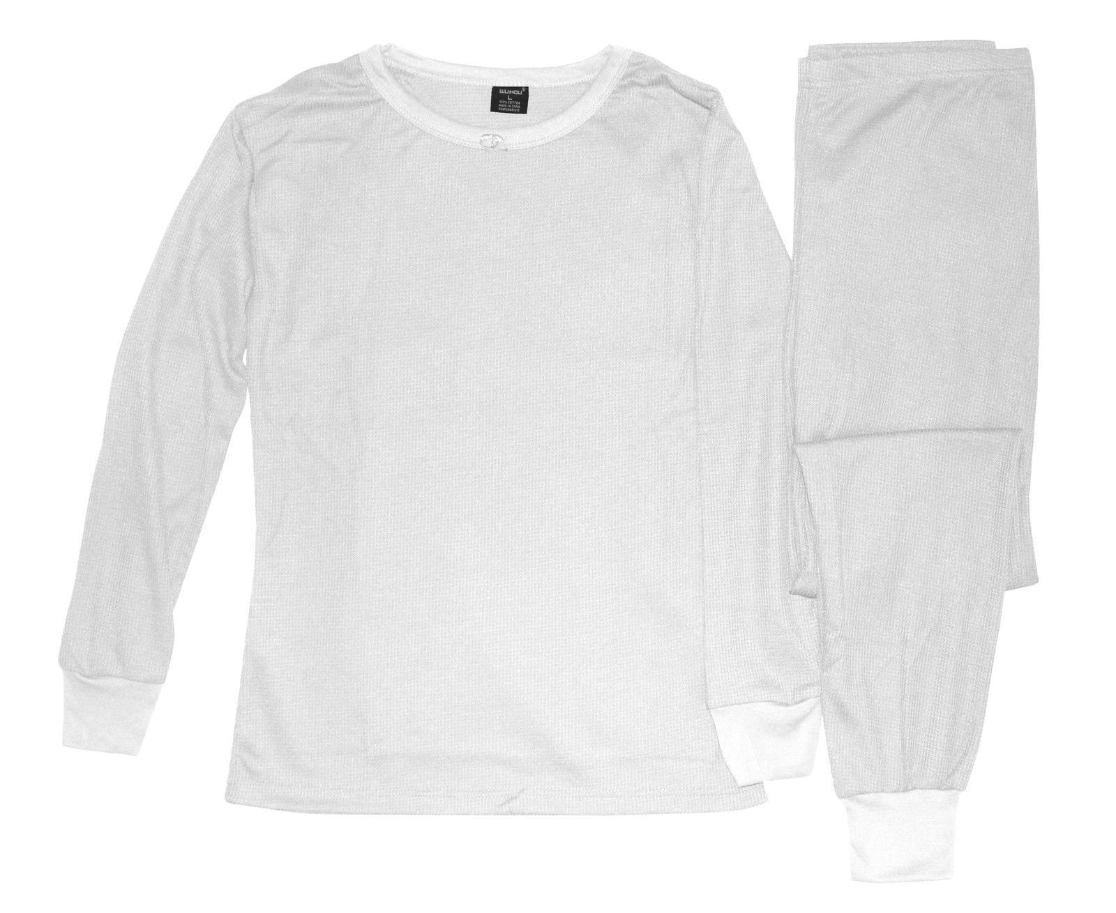 Women S 100 Cotton Light Weight Waffle Knit Thermal Top