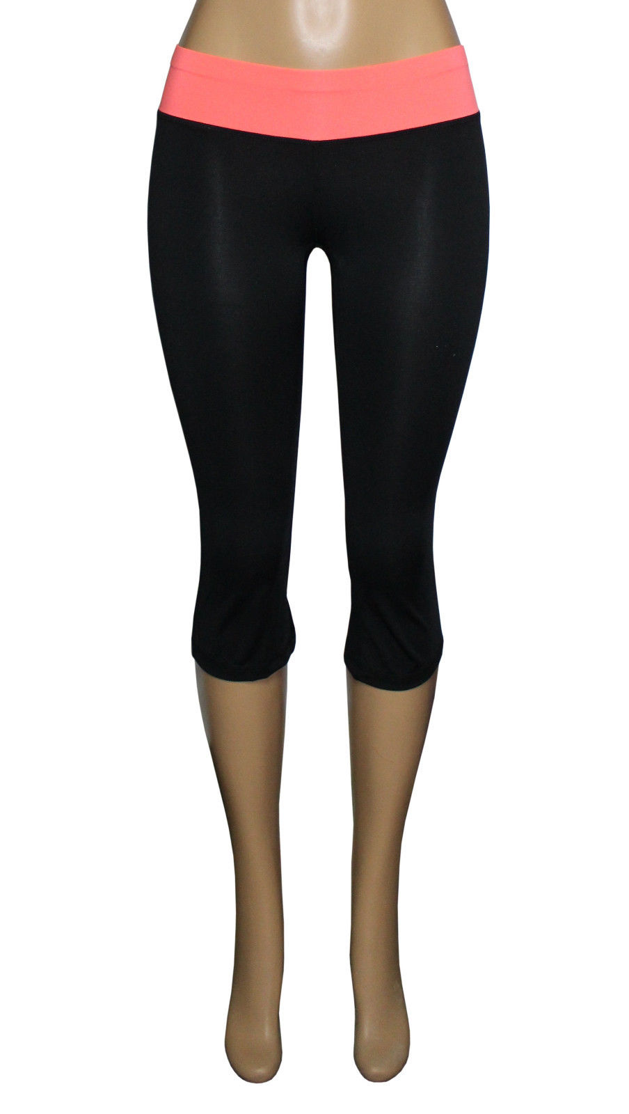 W Sportu00ae Womenu0026#39;s Moisture Wick Skinny Athletic Yoga Capri Leggings 811 | eBay