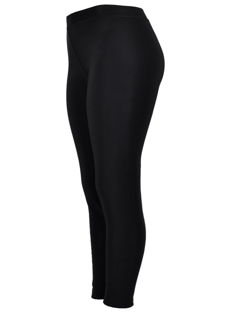 be8747c8538ff7 Victoria® Women's Extreme Winter Black Faux Fur Plush Lined Thermal Leggings