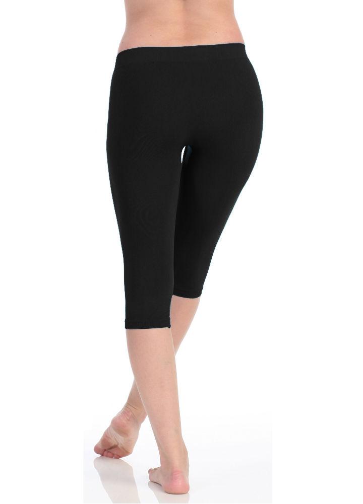 722775517304f Victoria® Women's High Waist Seamless Capri Leggings | Lillian Z's Boutique