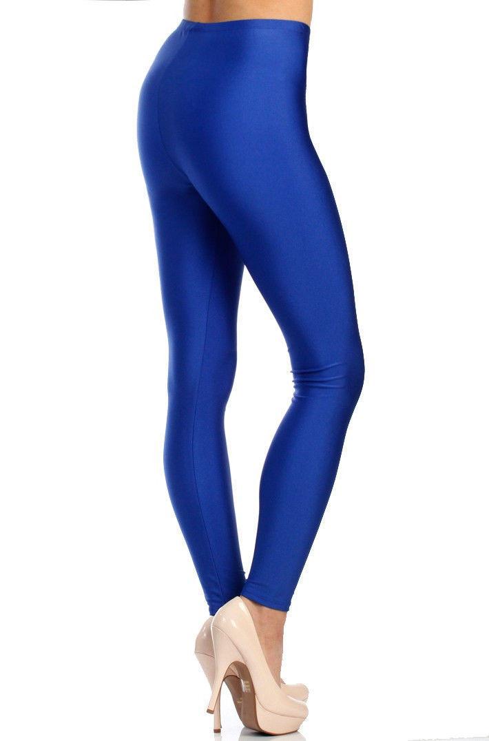 bc7fd3f9ed540 Victoria® Women's Shiny Nylon Stretchy Tricot Skinny Dance Leggings |  Lillian Z's Boutique